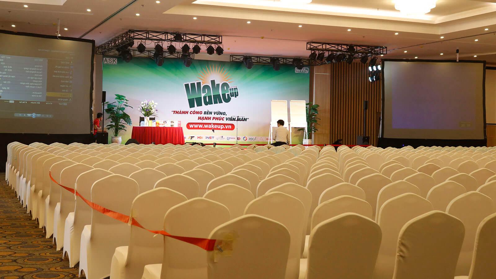 Thông báo địa điểm khóa Wake Up 18 – Hồ Chí Minh