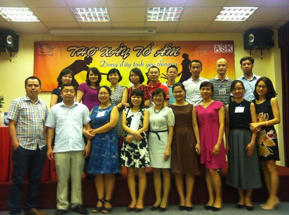 Thông báo địa điểm tổ chức khóa học Thợ Xây Tổ Ấm tháng 4 tại Hà Nội