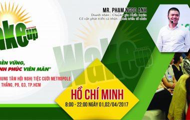 Thông báo địa điểm tổ chức Wake Up 26 tháng 4 tại Hồ Chí Minh