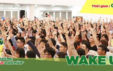 Thông báo địa điểm tổ chức Wake Up tháng 5 tại Hà Nội