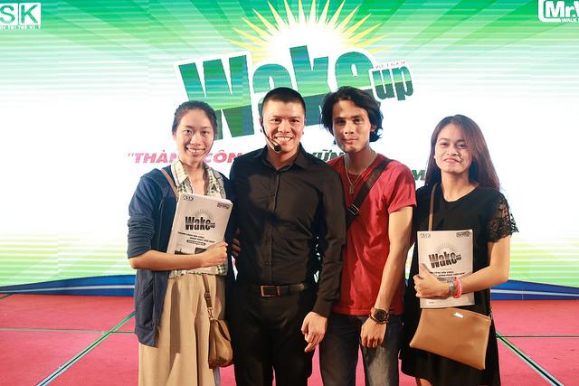Thông báo địa điểm tổ chức khóa học WAKE UP tháng 8 tại Hồ Chí Minh