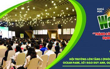 Thông báo địa điểm tổ chức khóa học WAKE UP tháng 5 tại Hà Nội