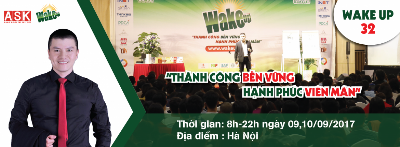 wake up tháng 9 Hà Nội