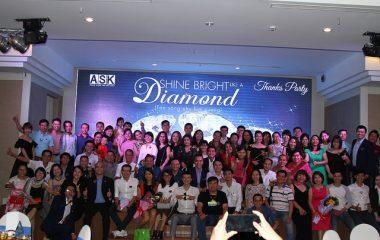 Hình ảnh Thanks Party Hồ Chí Minh – Đêm kim cương được tỏa sáng