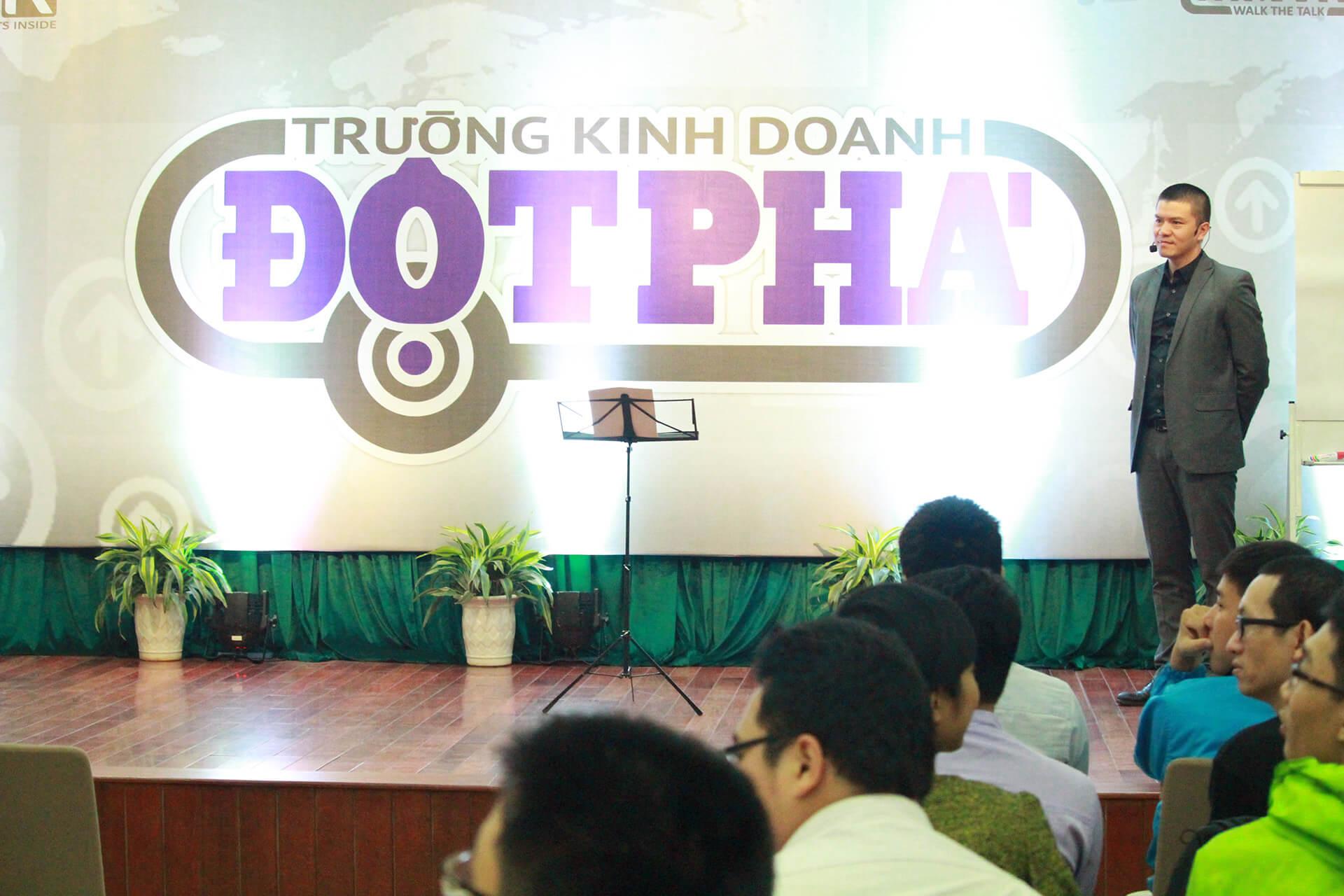 Thông báo địa điểm tổ chức khóa học TRƯỜNG KINH DOANH ĐỘT PHÁ 14-18/11/2018