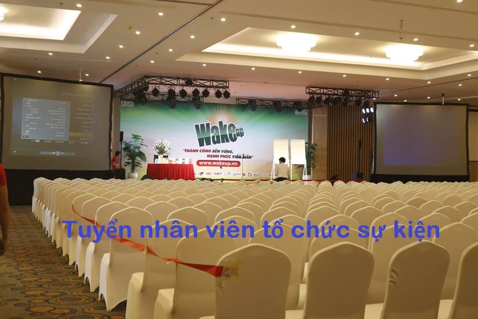 ASK tuyển dụng nhân viên tổ chức sự kiện khu vực Hà Nội