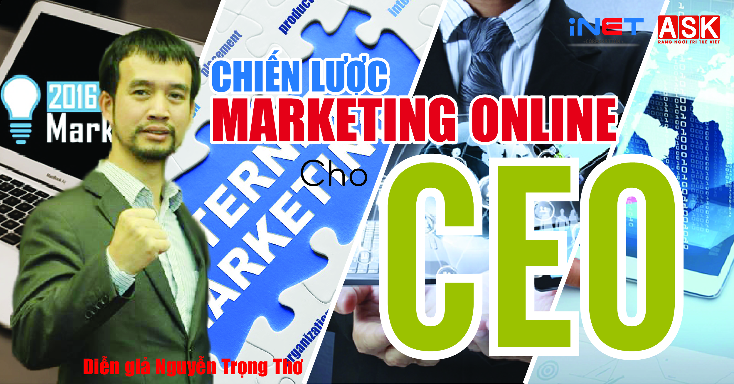 KHÓA HỌC MARKETING ONLINE CHO CEO – 09/04/2017