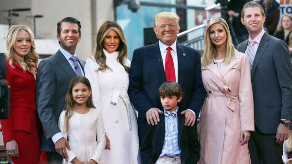 Tổng thống Mỹ Donald Trump dạy con như thế nào?