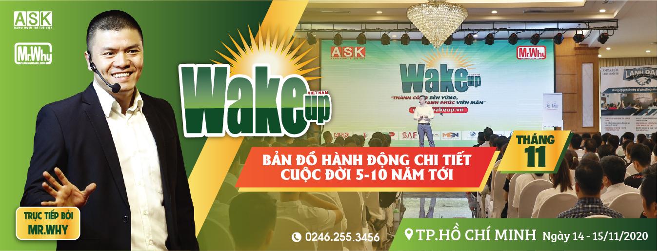 [THÔNG BÁO] ĐỊA ĐIỂM HỌC WAKE UP HỒ CHÍ MINH